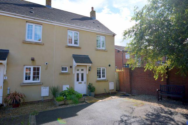 Thumbnail End terrace house for sale in Kenley Close, Bowerhill, Melksham