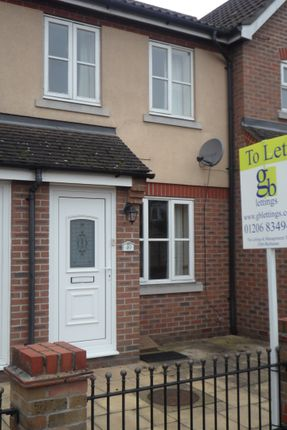 Thumbnail Terraced house to rent in Titus Way, Colchester
