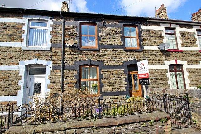 Thumbnail Terraced house for sale in Llantrisant Road, Pontyclun, Rhondda, Cynon, Taff.
