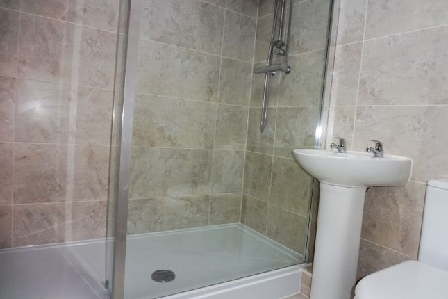 Refitted Shower Room:
