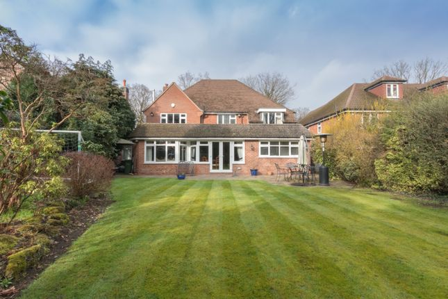 Thumbnail Detached house for sale in Ashlawn Crescent, Solihull, West Midlands