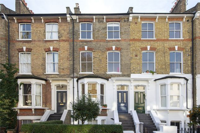 Exterior of Colvestone Crescent, London E8