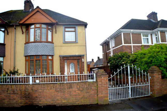 Thumbnail Semi-detached house for sale in Margam Road, Port Talbot