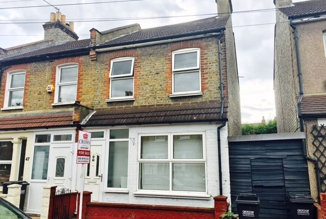 2 bed end terrace house for sale in Cecil Road, Croydon