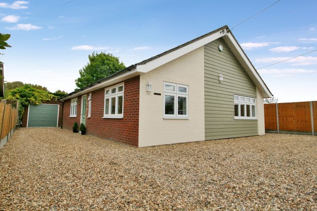 Thumbnail Detached bungalow for sale in Wood Lane, Fordham Heath, Colchester