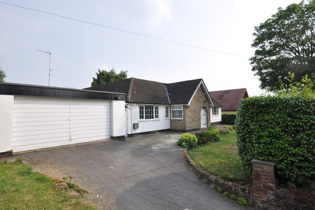 Thumbnail Detached bungalow for sale in Well Lane, Heswall, Wirral
