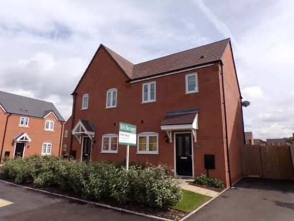 Thumbnail Semi-detached house for sale in Blenheim Road, Stratford Upon Avon, Warwickshire