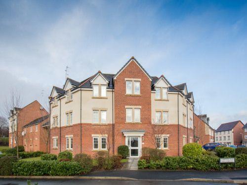 Thumbnail Flat to rent in Lambourne Court, Gwersyllt, Wrexham