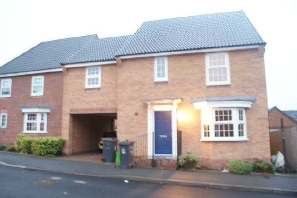 Thumbnail Detached house to rent in Snowgoose Way, Newcastle-Under-Lyme
