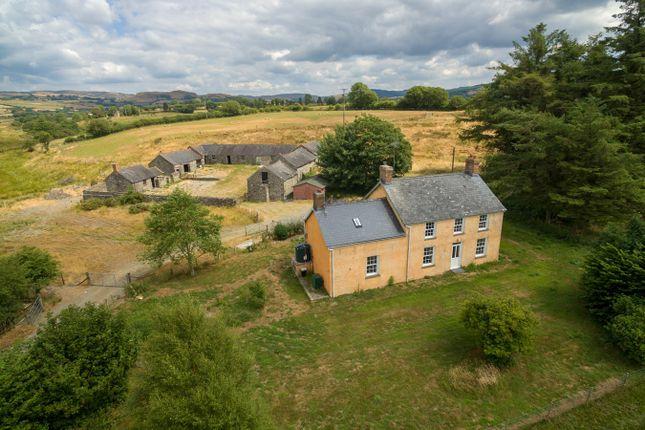 Thumbnail Farmhouse for sale in Pontrhydfendigaid, Ystrad Meurig