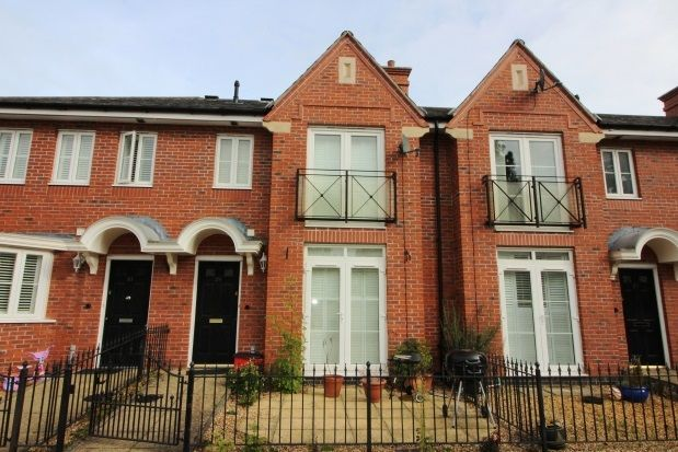Thumbnail Terraced house to rent in Marne Close, Warwick