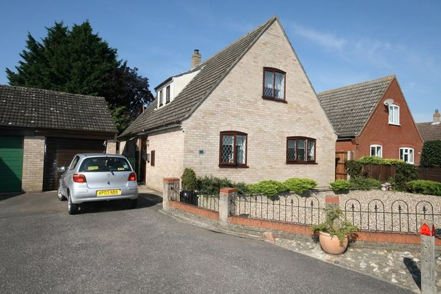 Thumbnail Detached house for sale in Edenside Drive, Attleborough