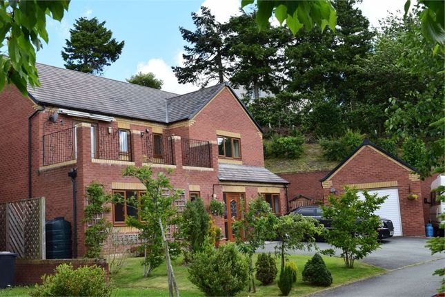 Thumbnail Detached house for sale in Oak View, Sarn, Newtown, Powys