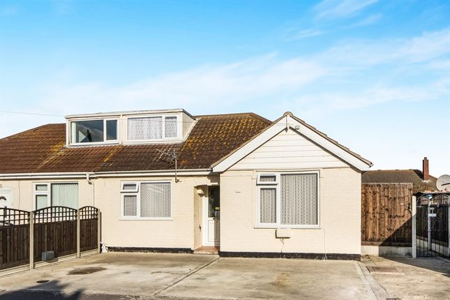 Thumbnail Semi-detached bungalow for sale in Malvern Road, Mablethorpe