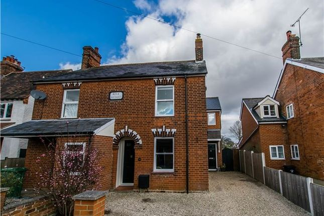 Thumbnail Semi-detached house for sale in Bentfield Causeway, Stansted, Essex