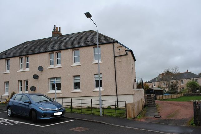 Thumbnail Flat to rent in St. Leonards Road, Lanark