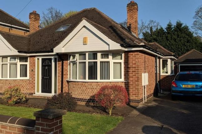 Thumbnail Bungalow for sale in Valmont Road, Bramcote, Nottingham, Nottinghamshire