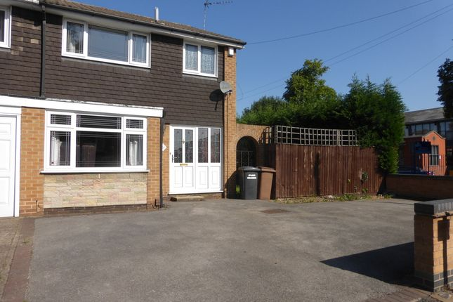 Thumbnail Semi-detached house to rent in Highfield Street, Nottingham