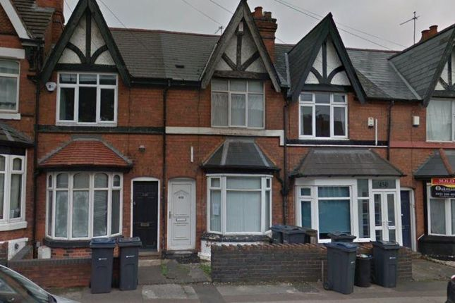 Terraced house for sale in Harborne Park Road, Harborne, Birmingham
