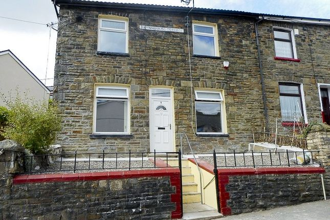 Thumbnail End terrace house to rent in Tylorstown -, Ferndale