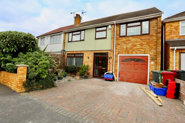 Thumbnail Semi-detached house to rent in Amanda Court, Langley, Slough