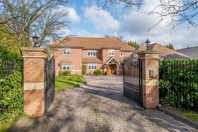Thumbnail Detached house for sale in Endwood Drive, Little Aston, Sutton Coldfield