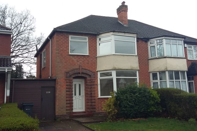 Thumbnail Semi-detached house to rent in Wood Lane, Handsworth