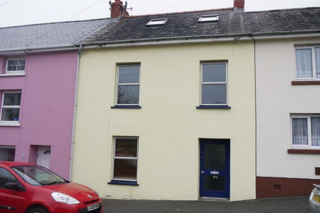 Thumbnail Terraced house to rent in Cambrian Place, Haverfordwest