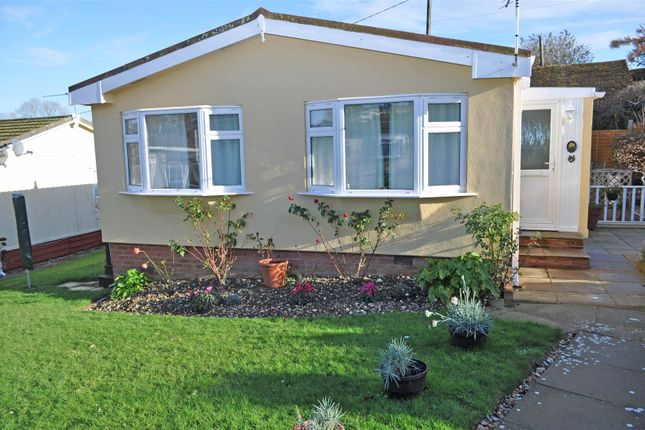 Thumbnail 2 bed mobile/park home for sale in Pippin Close, Herstmonceux, Hailsham