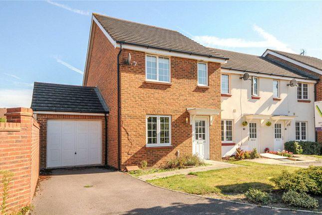 Thumbnail End terrace house to rent in Dunstans Drive, Winnersh, Wokingham, Berkshire
