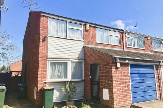 Thumbnail Semi-detached house to rent in Close To Hospital, Blandford Drive, Coventry