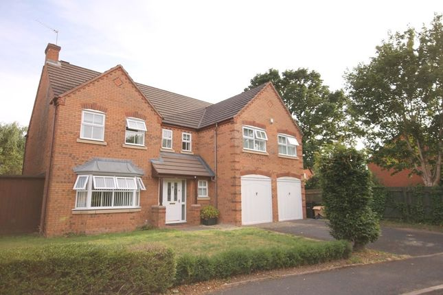Thumbnail Detached house for sale in Thetford Avenue, Worcester