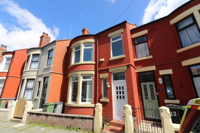 Terraced house for sale in Hampstead Road, Wallasey