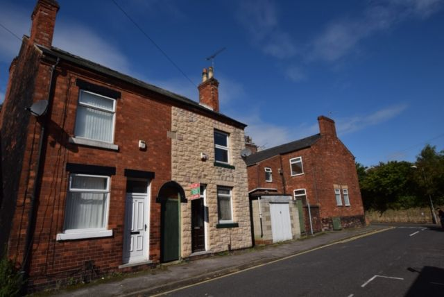 Thumbnail End terrace house to rent in Lindley Street, Mansfield