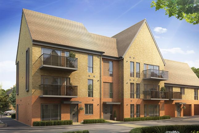 """Thumbnail Flat for sale in """"The Hever 2 Bed"""" at Repton Avenue, Ashford"""