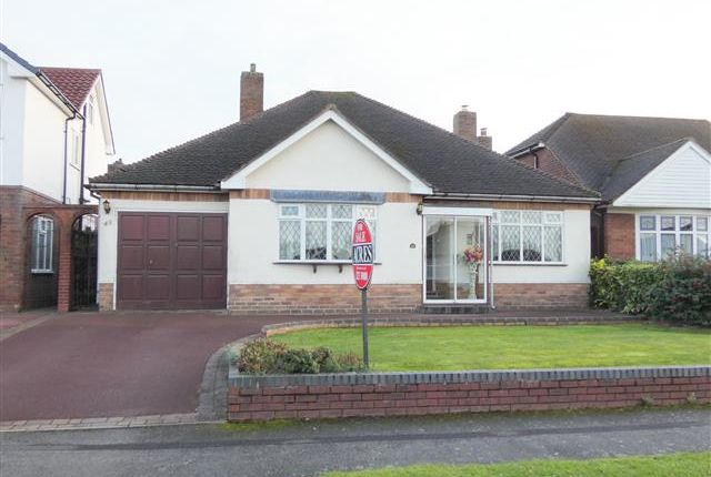 Thumbnail Detached bungalow for sale in Inglewood Grove, Streetly, Sutton Coldfield