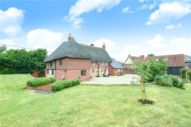 Thumbnail Detached house for sale in Castle Lane, Okeford Fitzpaine, Blandford Forum, Dorset