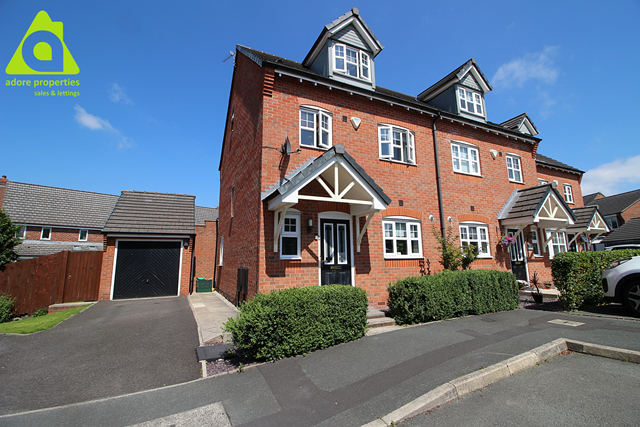 Thumbnail Semi-detached house for sale in Hale Bank, Westhoughton