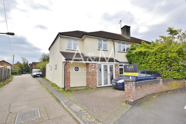 Thumbnail Semi-detached house for sale in Tudor Crescent, Ilford