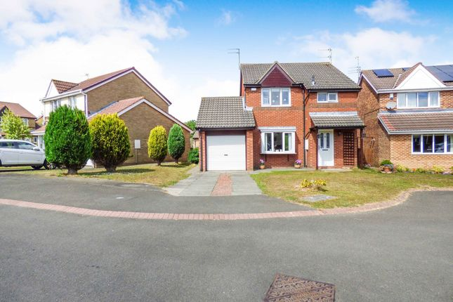 Thumbnail Detached house for sale in Plaistow Way, Cramlington