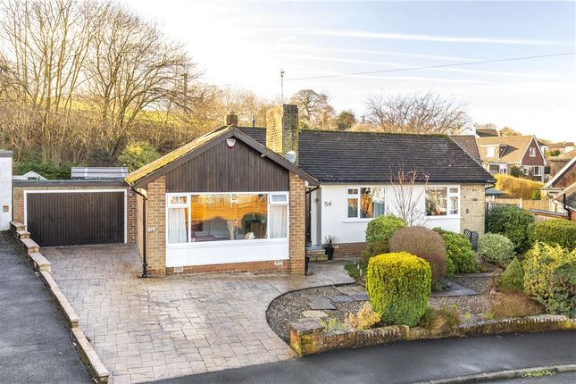 Thumbnail Bungalow for sale in Hall Drive, Burley In Wharfedale, Ilkley, West Yorkshire