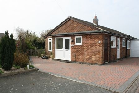 Thumbnail Detached bungalow to rent in Western Drive, Claybrooke Parva