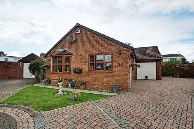 Thumbnail Bungalow for sale in Bennington Close, Hedon, Hull