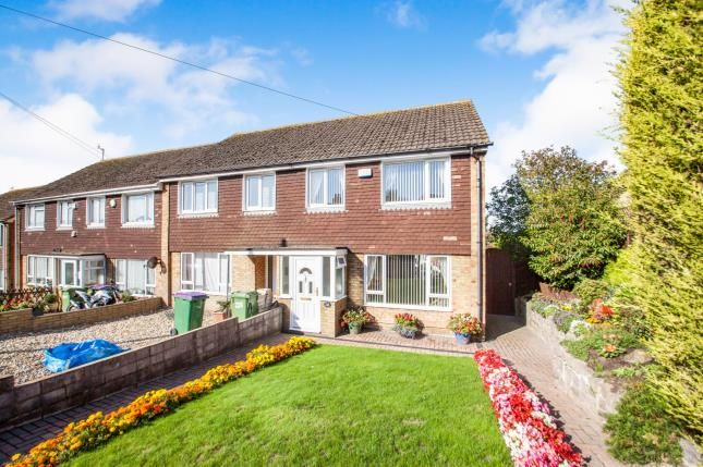Thumbnail End terrace house for sale in Canterbury Road, Folkestone, Kent