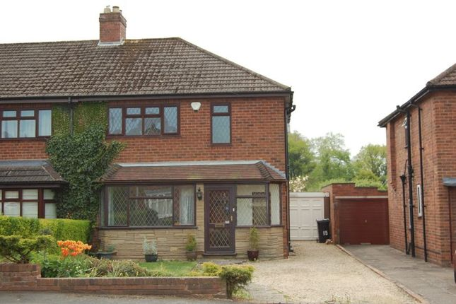 Thumbnail Semi-detached house to rent in Meadow Road, Albrighton, Wolverhampton