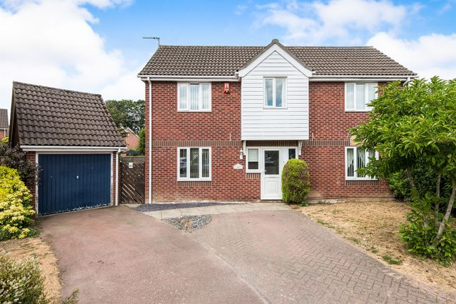 Thumbnail Detached house for sale in St Marys Grove, Sprowston, Norwich