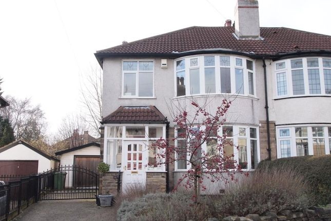 Thumbnail Semi-detached house to rent in Oakwell Gardens, Roundhay, Leeds