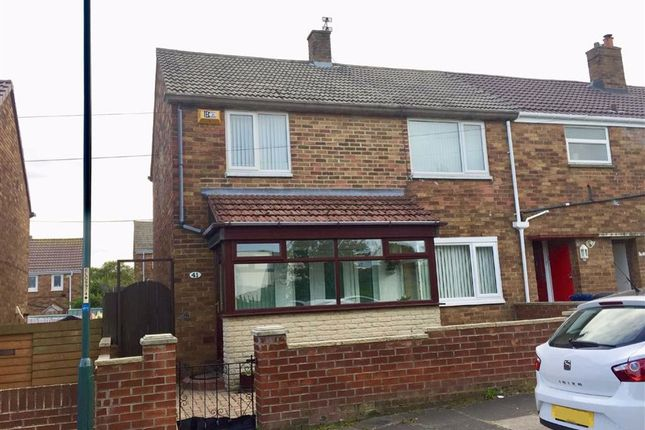 Thumbnail 3 bed end terrace house for sale in Bisley Drive, South Shields