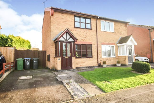 2 bed semi-detached house to rent in Devitt Way, Broughton Astley, Leicester, Leicestershire LE9