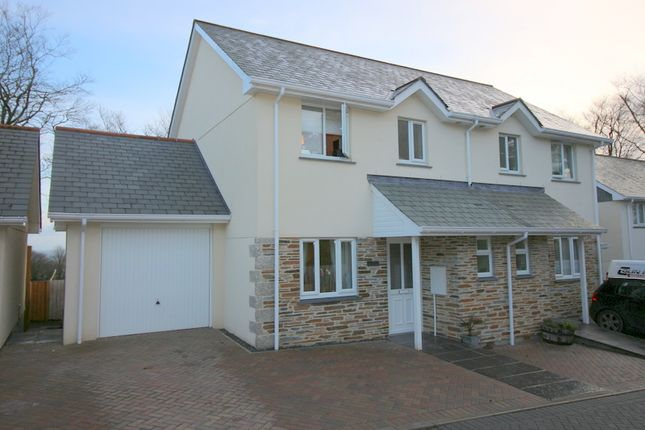 Thumbnail Semi-detached house for sale in The Beeches, St. Anns Chapel, Gunnislake